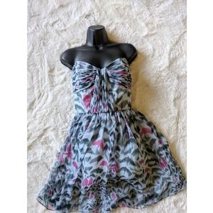 ERIN by Erin Fetherston Dresses - Anthropologie Erin NWT abstract strapless dress s4